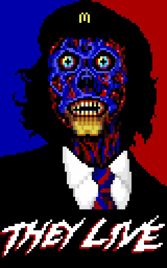 they live pixel art