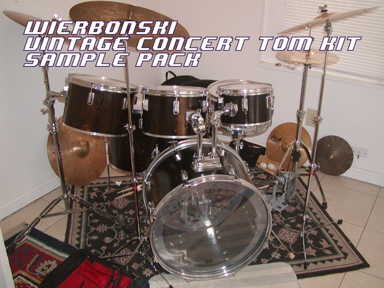 Wierbonski Drum Sample Pack