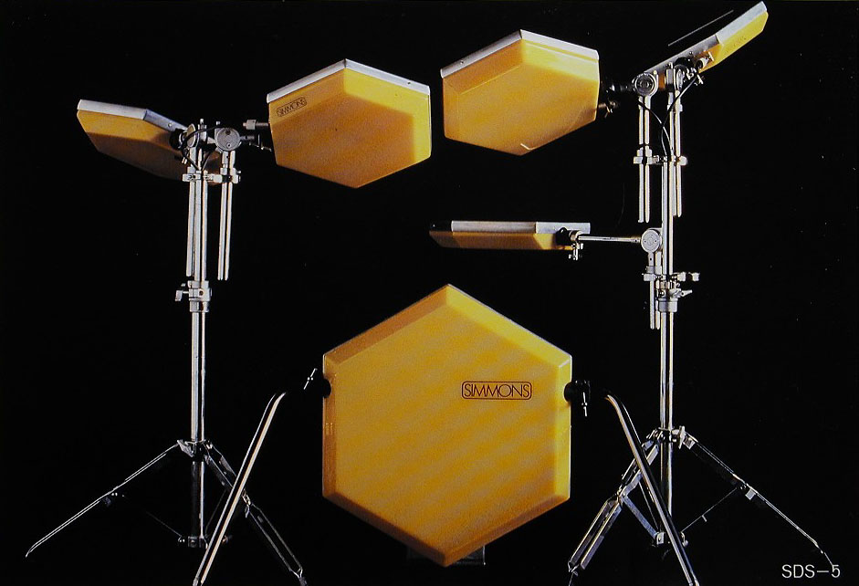 vintage simmons drums