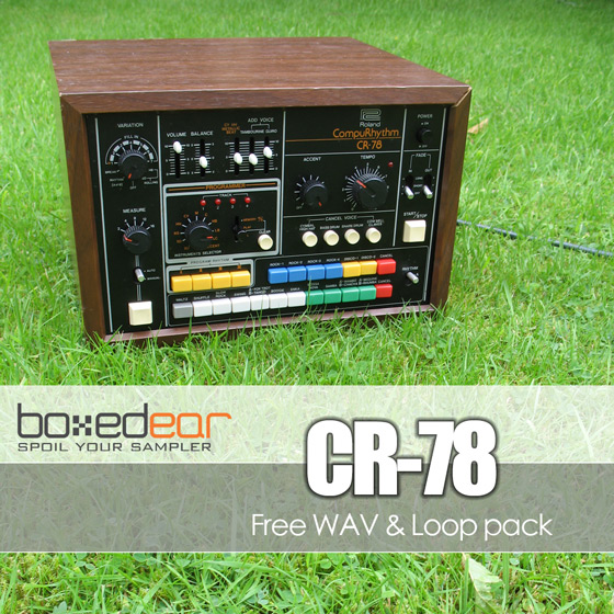 free cr-78 drum machine loops