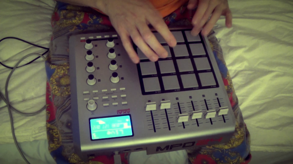 akai mpd24 finger drumming